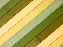 Texture en bambou de couvre-tapis Photo libre de droits