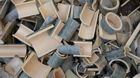 Texture en bambou de fond de bloc Image libre de droits