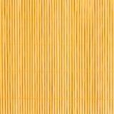 Texture en bambou de fond de nappe Image stock