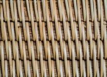 Texture en bambou de métier Photos stock