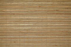 Texture en bambou de placemat Images libres de droits