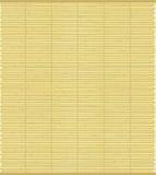 Texture en bambou de tapis Image libre de droits