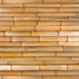 Texture en bambou, fond en bambou de barrière photographie stock