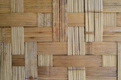 Texture en bambou grunge de Wooven Image stock