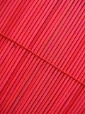 Texture en bambou rouge Images stock
