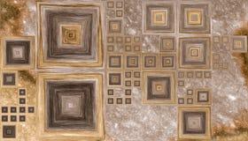 Texture en bois abstraite colorée Photo libre de droits
