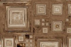 Texture en bois abstraite colorée Images libres de droits