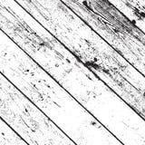 Texture en bois affligée Image libre de droits