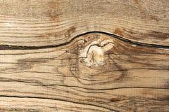 Texture en bois avec un accroc image stock