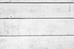Texture en bois blanche avec les configurations normales Photo libre de droits