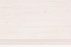 Texture en bois blanche d'étagère Photo stock