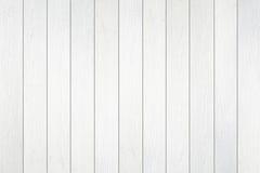Texture en bois blanche de mur Photos libres de droits