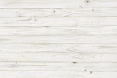 Texture en bois blanche de vintage Images stock