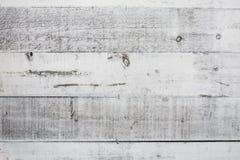 Texture en bois blanche de vintage Photo libre de droits