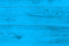 Texture en bois bleu-clair comme texture de fond Photographie stock