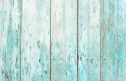 Texture en bois bleu-clair superficielle par les agents rustique de cru photos libres de droits
