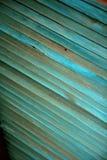 Texture en bois bleue Photographie stock libre de droits
