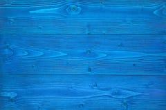 Texture en bois bleue photos stock