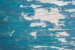 Texture en bois bleue Photo stock