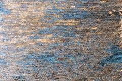 Texture en bois bleue de fond de vintage Photo libre de droits