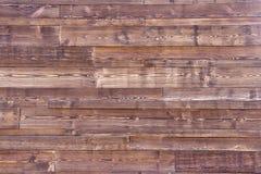 Texture en bois brun clair Panneaux en bois foncés de fond vieux Images libres de droits