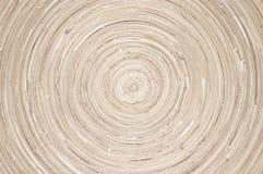 Texture en bois circulaire image libre de droits