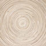 Texture en bois circulaire photographie stock libre de droits