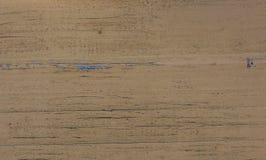 Texture en bois colorée par sable Photographie stock