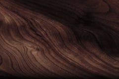 Texture en bois d'amande avec le knott Image stock