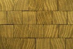 Texture en bois d'amande avec le knott Image libre de droits