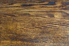 Texture en bois de Brown Images stock