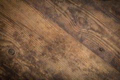 Texture en bois de Brown abrégez le fond Image libre de droits