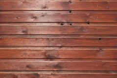 Texture en bois de Brown avec les configurations normales Photos libres de droits