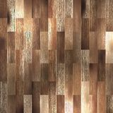 Texture en bois de Brown de plancher avec des modèles. ENV 10 illustration de vecteur