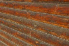 Texture en bois de Brown des identifiez-vous le mur de la barrière photos libres de droits