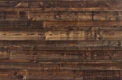 Texture en bois de Brown vieux panneaux de fond Photos libres de droits
