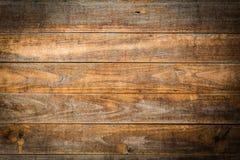Texture en bois de brun de planche Photos libres de droits
