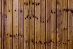 Texture en bois de brun de planche Photo libre de droits