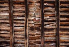 Texture en bois de décellulation images stock