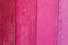 Texture en bois de fond de conseil peinte par rose Photographie stock libre de droits