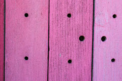 Texture en bois de fond de conseil peinte par rose Photographie stock