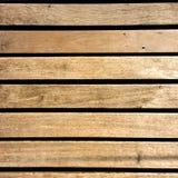 Texture en bois de fond de passage couvert, d'en haut Images stock