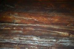 Texture en bois de fond de plancher de vintage Photographie stock