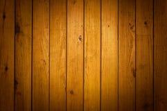 Texture en bois de mur de Brown Images stock