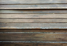 Texture en bois de mur de Brown Photo stock