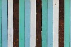 Texture en bois de mur de rayures de vintage Image libre de droits