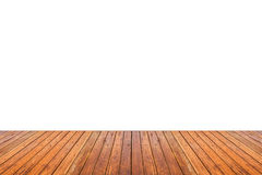 Texture en bois de plancher d'isolement sur le fond blanc images libres de droits
