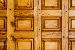 Texture en bois de porte Image libre de droits