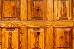 Texture en bois de porte Photo stock
