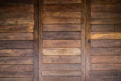 Texture en bois de porte de grange Image libre de droits